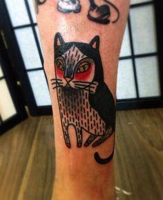 Linhas fortes, detalhes surpreendentes e uso refinado da cor. O trabalho de Matt Cooley é único e original. Conheça suas tatuagens bold traditional!