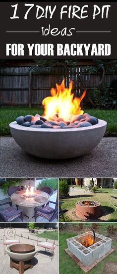 17 DIY Fire Pit Ideas and Tutorials for Your Backyard