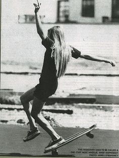 long board blonde