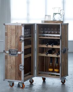 Contemporary Home Mini Bar Design Inspirations for Small Bars for Home Mini Bar Liquor Cabinet Home Mini Bar Cabinets Home Mini Bars Furniture Tiny Hotel Minibar Refrigerator Design Ideas In Black From Metal With Glass Door on We Heart It Loft Industrial, Industrial Design Furniture, Bar Furniture, Furniture For You, Furniture Design, Furniture Boutique, Business Furniture, Reclaimed Furniture, Refinished Furniture