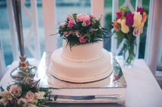 Wedding Cake, Davy & Sarah, Marlfield House.