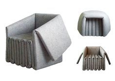 sièges en feutre, Ben Ryuki Miagi, Elephant seating,