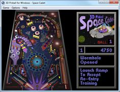 3D Pinball for Windows - Space Cadet You are a young Cadet trying to graduate from the Space Academy and make a name for yourself as an officer. You must complete you training and prove your abilities in order to move up through the ranks and increase your score. Do you have what it takes to become a Fleet Admiral? In 3D Space Cadet Pinball you'll find out! #videogames