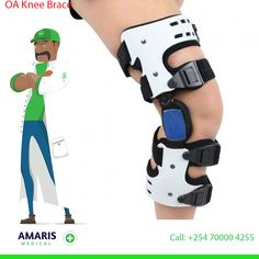 It is generally prescribed as a precursor or alternative to joint replacement. It applies corrective force to the leg for maintaining normal alignment and redistributing load away from the damaged side of the knee. It is used for mild to moderate unicompartmental osteoarthritis. Its lightweight frame and hinge provide 3 points force and adjustable angle to shift joint force from the degenerative area to healthy compartment, thus helping to relieve pain and maintain normal knee movement. Joint Replacement, Knee Brace, Braces, Alternative, Medical, Healthy, Medicine, Health, Med School