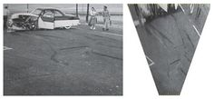 James Dean car crashreconstructed from photo