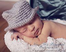 Ravelry: Baby Fedora Hat Crochet Pattern 204 pattern by Posh Patterns