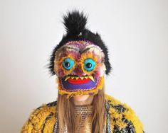 Handmade monster headdresses by UTHA Hats on Etsy