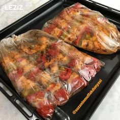 Fırın Poşetinde Tavuk Çöp Şiş - Leziz Yemeklerim