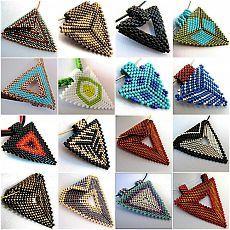 =Треугольники de los abalorios =.