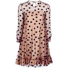 Charles Anastase polka dot dress. I WANT THIS!
