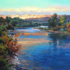 "Oklahoma Artist Linda Tuma Robertson ""Evening Shadows"""