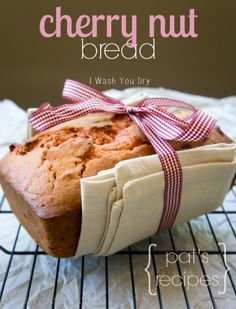 Cherry Nut Bread - Delicious AND adorable!