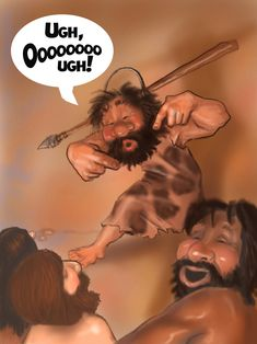 Yes, kids, this is what we laughed at when I was young. #stevemartin #caveman #standup #excuseme #funny #jokes #ugh #inmyday #whenIwasyourage