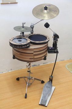 Drums in a drum
