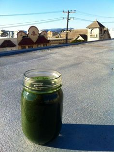 A Green Smoothie To Start Your Weekend With A Bang