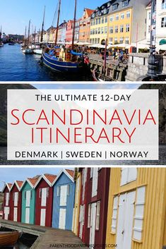 The ultimate Scandinavia itinerary - 12 full days, 6 fantastic stops From the capital of Denmark to Sweden's rugged west coast and the Norway fjords, this Scandinavia itinerary gives you the best of Scandinavia in 12 days. Top Travel Destinations, Europe Travel Guide, Travel Guides, Nightlife Travel, Travel Things, Holiday Destinations, Budget Travel, Sweden Travel, Norway Travel