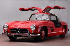 Love this original 1955 Mercedes-Benz 300SL Gullwing. Asking price Euro  €600000