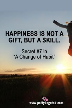 Happiness is a skill...