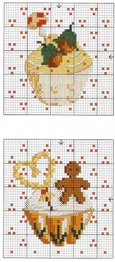 ru / Фото - C**P**D**C - 21 - Axnadi Cupcake cross stitch haft krzyżykowy babeczki muffinki Cupcake Cross Stitch, Cross Stitch Love, Cross Stitch Needles, Cross Stitch Charts, Cross Stitch Designs, Cross Stitch Patterns, Cross Stitching, Cross Stitch Embroidery, Embroidery Patterns