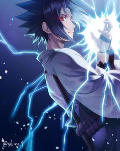 Sasuke Uchiha Curse Mark Form Wallpaper Shippuden