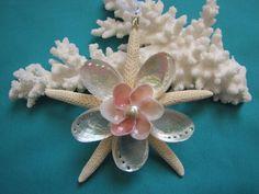Starfish Shell Ornament Beach Decor Christmas by TheSleepySeahorse