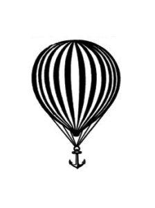 Hot air balloon anchor. What Haden's getting!