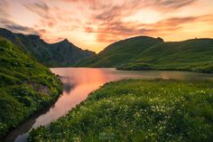 """I definitely have to hike again to the wonderful """"Schrecksee"""" in Bavaria. It's a surreal location! Our Planet, Bavaria, Surrealism, Hiking, River, Landscape, Photography, Outdoor, Website"""