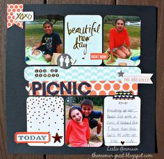 The Memory Nest: Picnic and S'mores