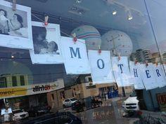 vintage photos for mother's day sign @zestforlivingpc