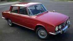 1968 Alfa Romeo Berlina in Red.
