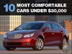 10 most comfortable cars from 2010