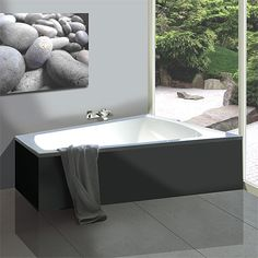 Großartig Hoesch Largo Trapez Badewanne, Rechte Ausführung