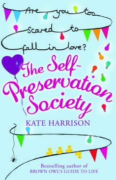 The Self-Preservation Society by Kate Harrison was a book I picked up because it was on offer. In it you meet Jo Morgan who puts all her energy in to minimising the risk in her life.
