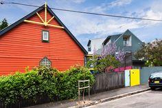 Colourful church conversion in Erskineville, Sydney, Australia