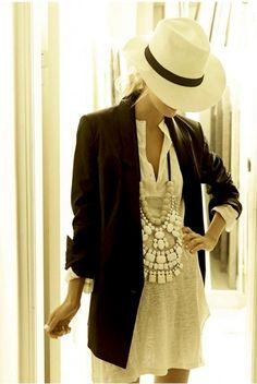 women' fashion, black blazer