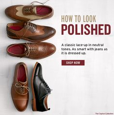 Johnston & Murphy - The Polished Look: Cap-Toes + Wingtips