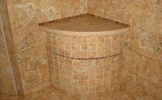 tile shower borders   showers 1200×900 round custom shower seat new jersey custom tile