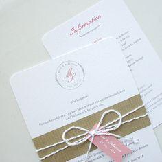 Vintage Chic Hochzeitseinladung / HochzeitLogo von Design4Eternity, £70.00
