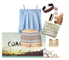 """""""Summer ☀️"""" by shoshos on Polyvore featuring Chanel, Terre Mère, Ancient Greek Sandals, Solid & Striped, Sandy Liang and Lanvin"""