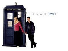 True, you need a companion in the exciting life. The Doctor and Rose