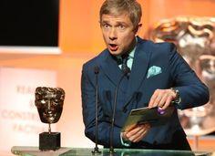 Martin at the BAFTAs. <3 His face... adorable as always.