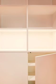 Craven Hill Gardens, Top Floor Flat by Ardesia Design. #custommade #joinery #led #lights