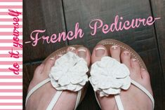 French Pedicure How To from TheSITSGirls.com
