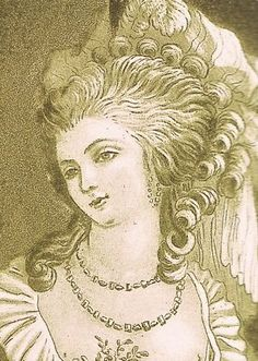 "Nicole d´Oliva was a Parisian prostitute hired by Jeanne de la Motte to pose as Marie Antoinette as part of her elaborate plan known as ""The Affair of the Diamond Necklace"".  She met with Cardinal Rohan in the palace gardens and convinced him that he was meeting with Marie Antoinette."
