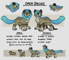 Shoaleo species guide by nekuroSilver.deviantart.com on @DeviantArt