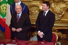 Italy Follows Greece As President Vote Guides Renzi Fate.(December 12th 2014)