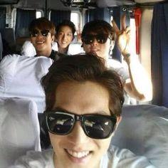 Annyeong Boices✌️ #cnblue #boice #leejonghyun #leejungshin #kangminhyuk #jungyonghwa #bmperu