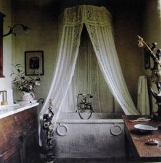 Master Bathroom - Diane Burn - Porto Ecole, Italy