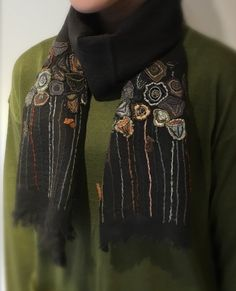 Sophie Digard ~ Embroidered Wool