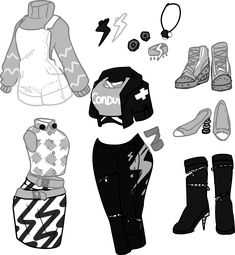 Fashion Design Sketches 785174516271709510 - Deer's tears Source by Manga Clothes, Drawing Anime Clothes, Cute Art Styles, Cartoon Art Styles, Fashion Design Drawings, Fashion Sketches, Anime Outfits, Cool Outfits, Fashion Outfits